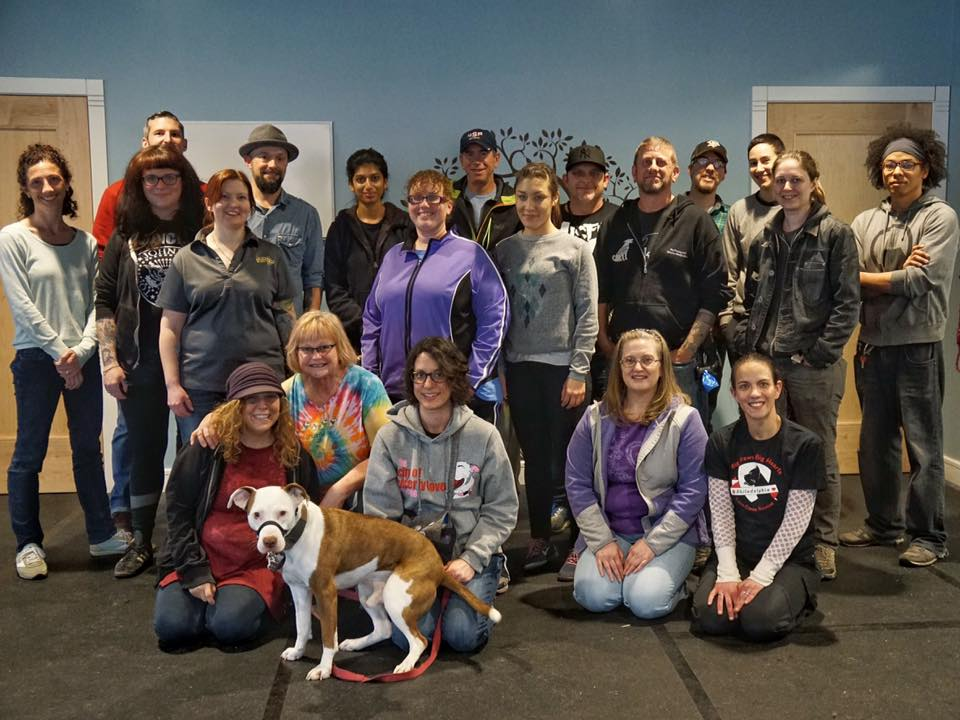 The wonderful crew from one of my seminars in Philadelphia.